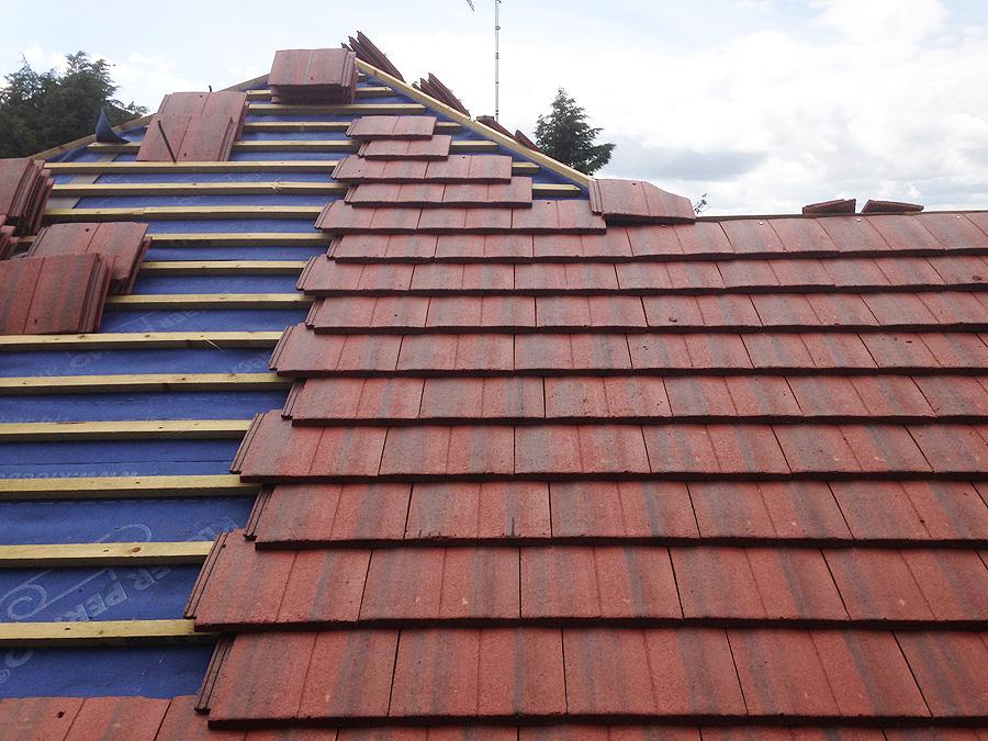 Industrial Roof Work : Previous roofing work mills